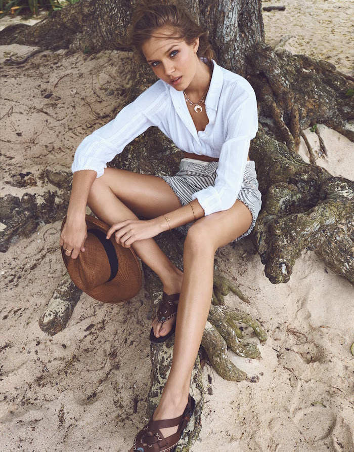 Josephine Skriver by Emma Tempest for The Edit