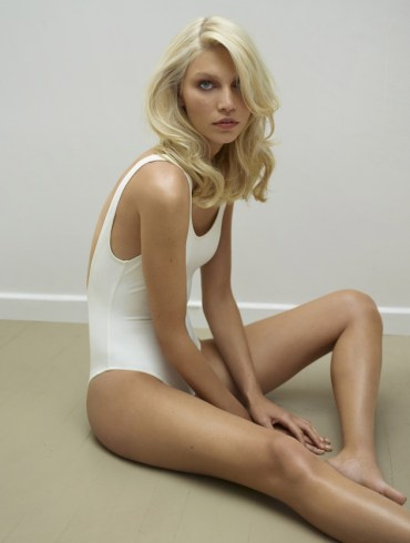 Aline Weber by Thomas Whiteside for Harper's Bazaar Spain