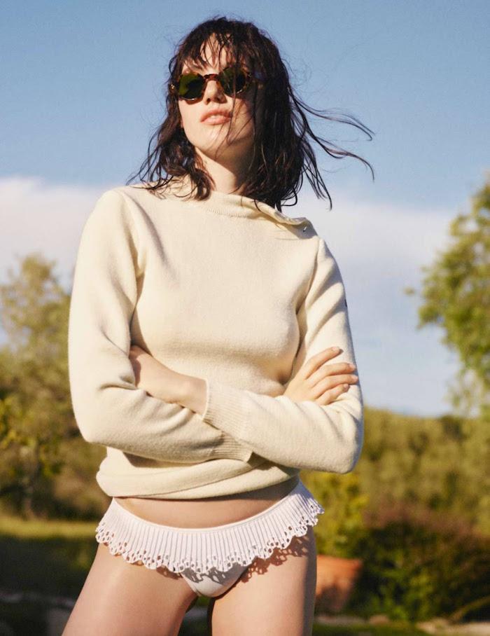 Anya Lyagoshina by Misha Taylor for Elle France