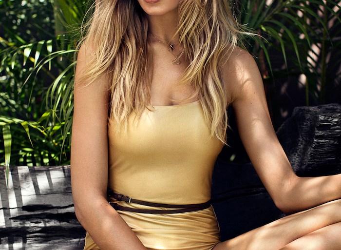 Camilla Christensen by Eric Josjo for Elle Sweden