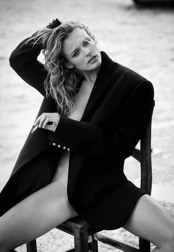 Edita Vilkeviciute by Boo George for Vogue Germany