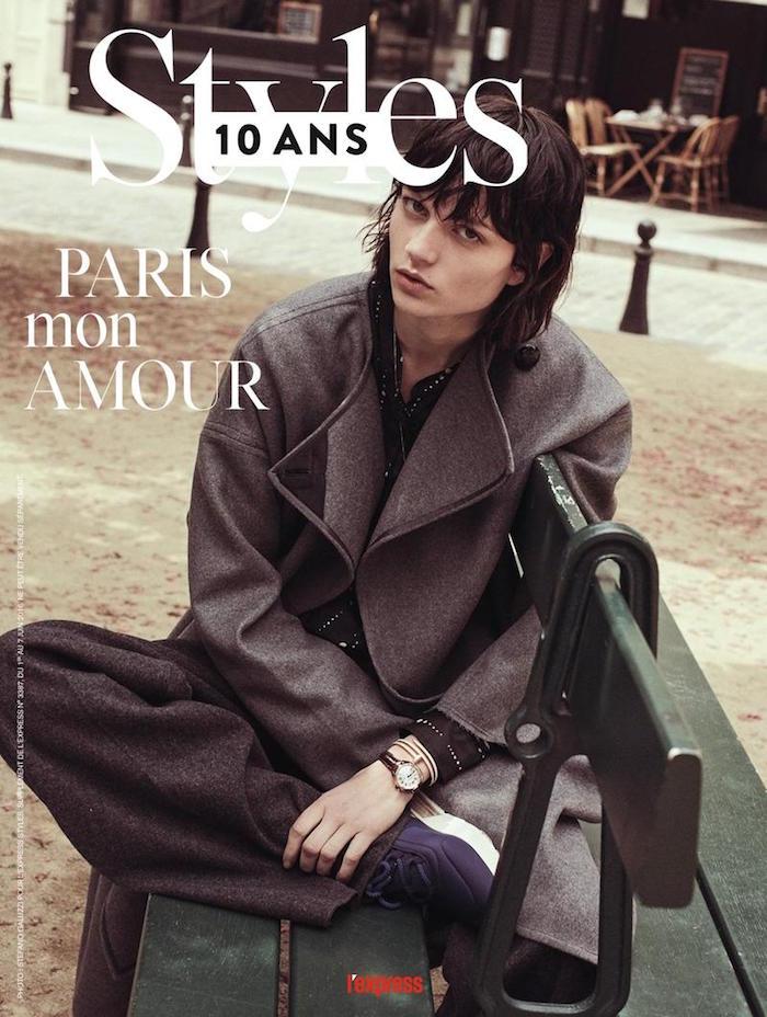 Ellen de Weer covers L'Express Styles