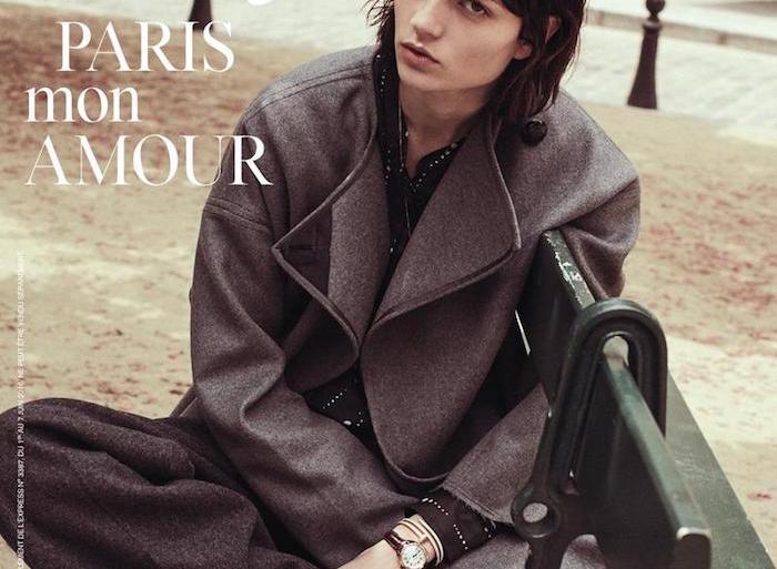 Ellen de Weer by Stefano Galuzzi for L'Express Styles
