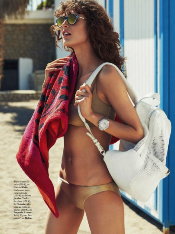Maud Le Fort by Xavi Gordo for Elle Spain