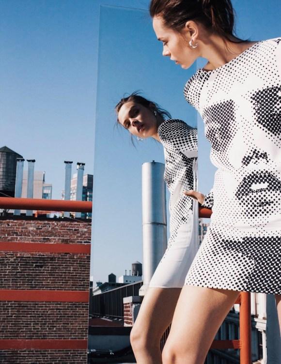 Mina Cvetkovic by Alex Franco for Vogue Mexico