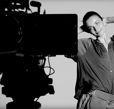 BTS: Andreea Diaconu for Woolworths 1