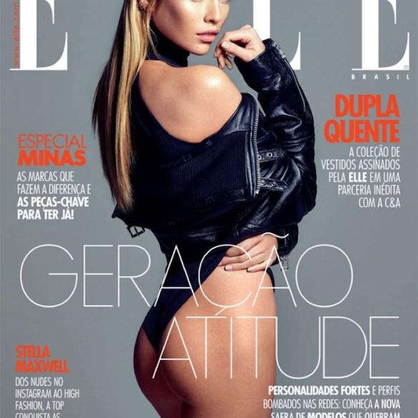 Stella Maxwell covers Elle Brasil 1