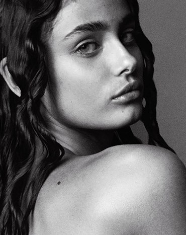 Taylor Hill by Mario Testino for V Magazine
