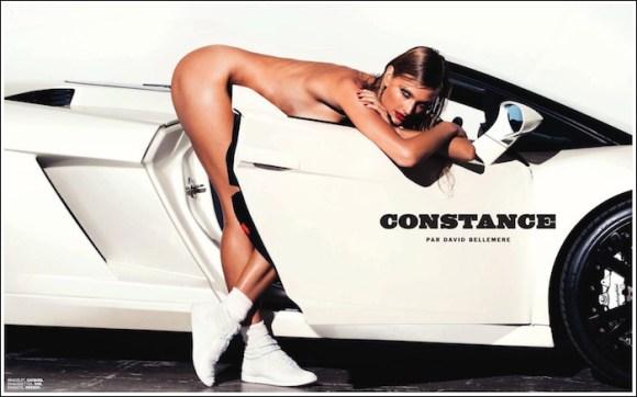 Constance Jablonski by David Bellemere for Lui Magazine