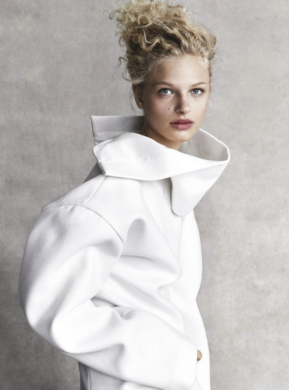Frederikke Sofie by Patrick Demarchelier for Vogue Australia