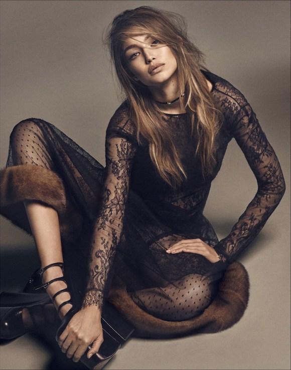 Gigi Hadid by Luigi and Iango for Vogue Japan