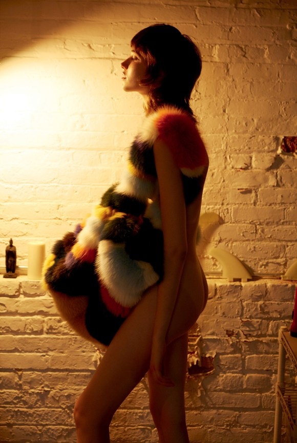Grace Hartzel nude by Roe Ethridge for Document Journal