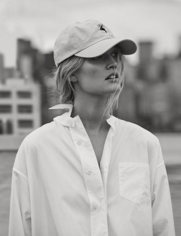 Toni Garrn by Matthew Brookes for GQ Germany