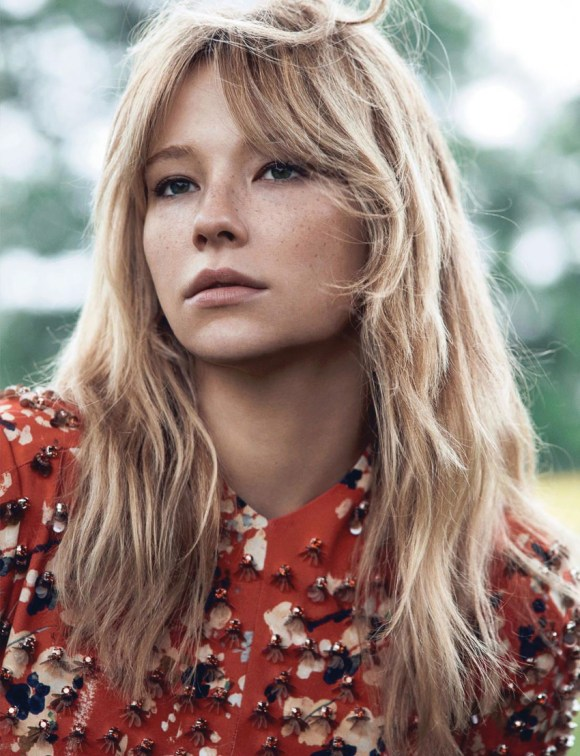 Haley Bennett by Lachlan Bailey for Dior Magazine