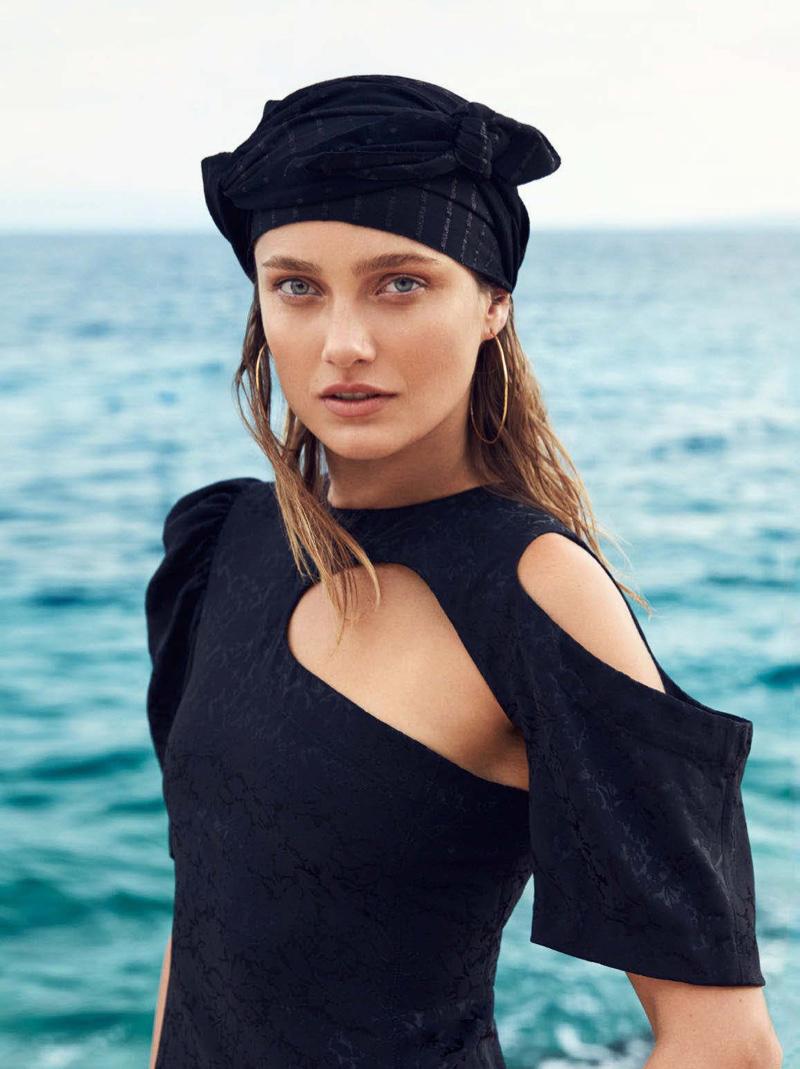 Karmen Pedaru by Sylve Collness for Harper's Bazaar Australia