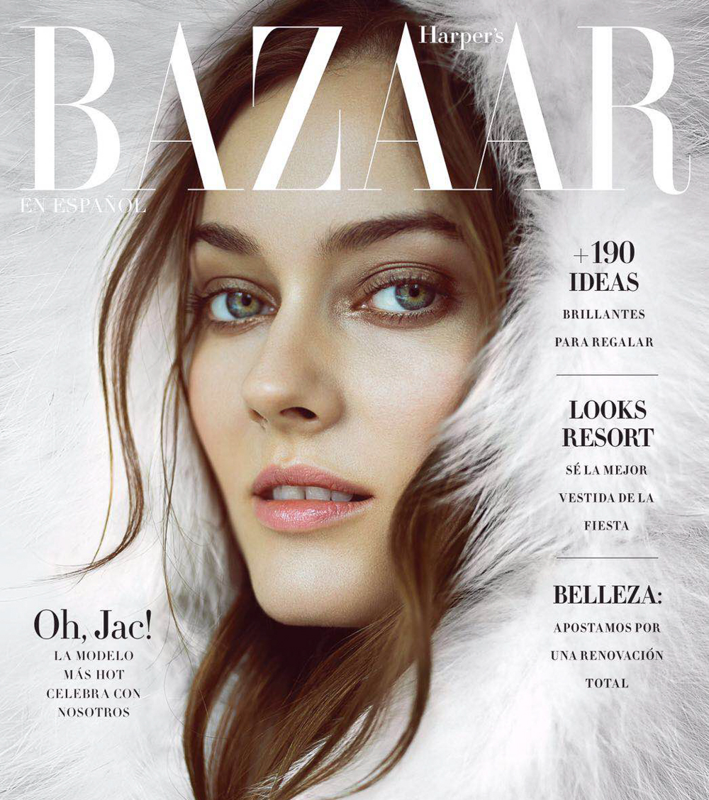 Jac covers Harper's Bazaar Mexico