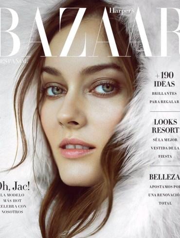 Monika Jac Jagaciak by Matallana for Harper's Bazaar Mexico