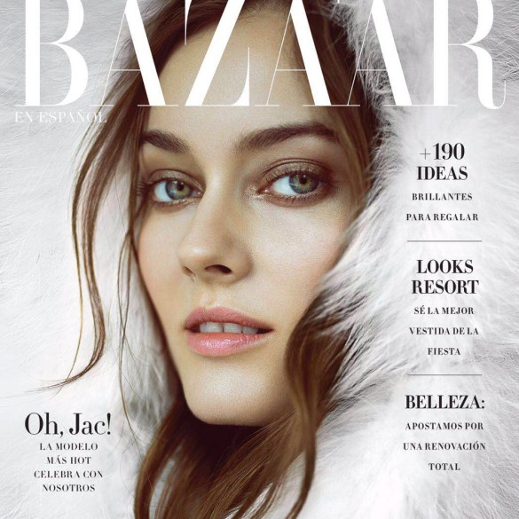 Monika Jac Jagaciak by Matallana for Harper's Bazaar Mexico