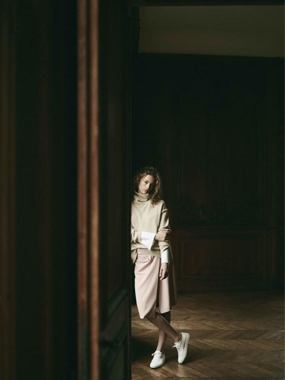 Sophia Ahrens by Annemarieke van Drimmelen for Filippa K