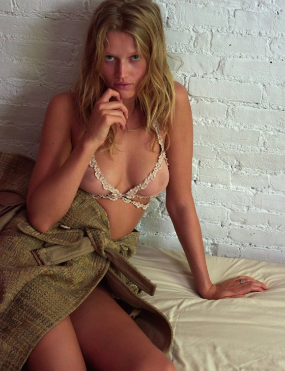 Toni Garrn by Richard Kern for Numero Berlin