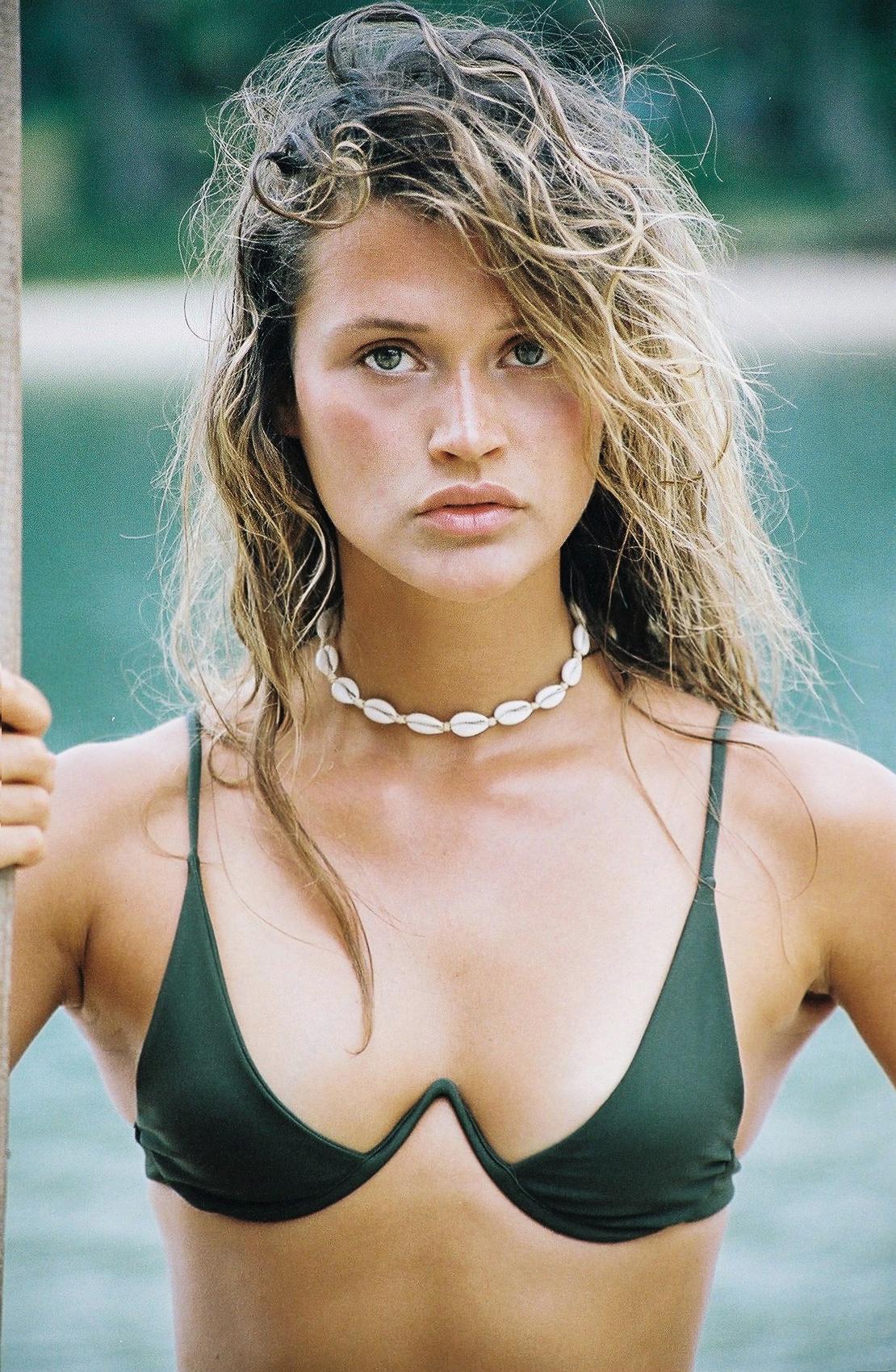 Chloe Lecareux for Bamba Swim