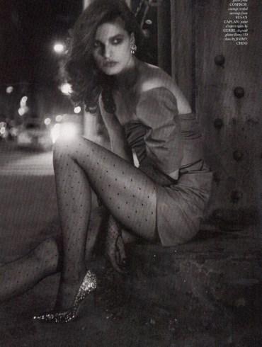 Julia Van Os by Drew Jarrett for Love Magazine