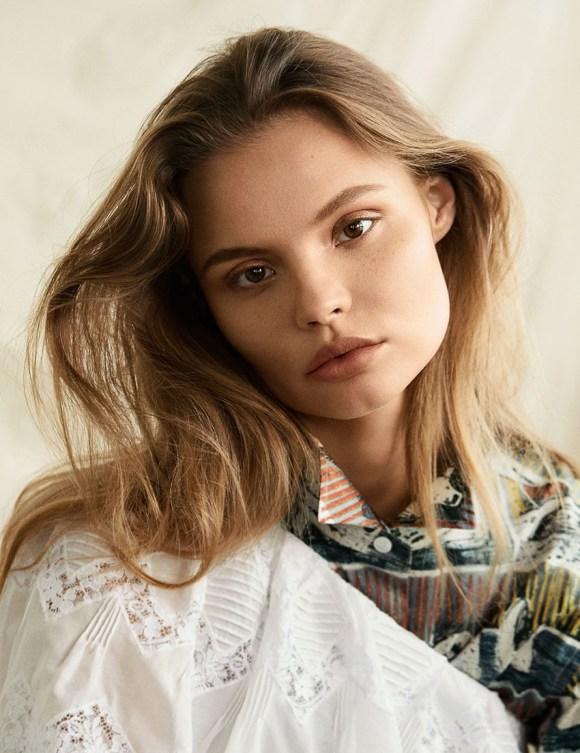 Magdalena Frackowiak by Olivia Malone for Harper's Bazaar Korea