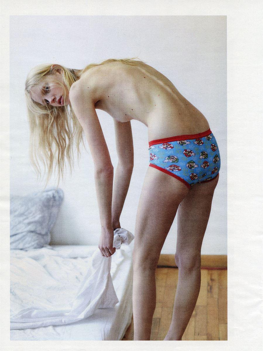 Jessie Bloemendaal by Mario Sorrenti for Interview Magazine