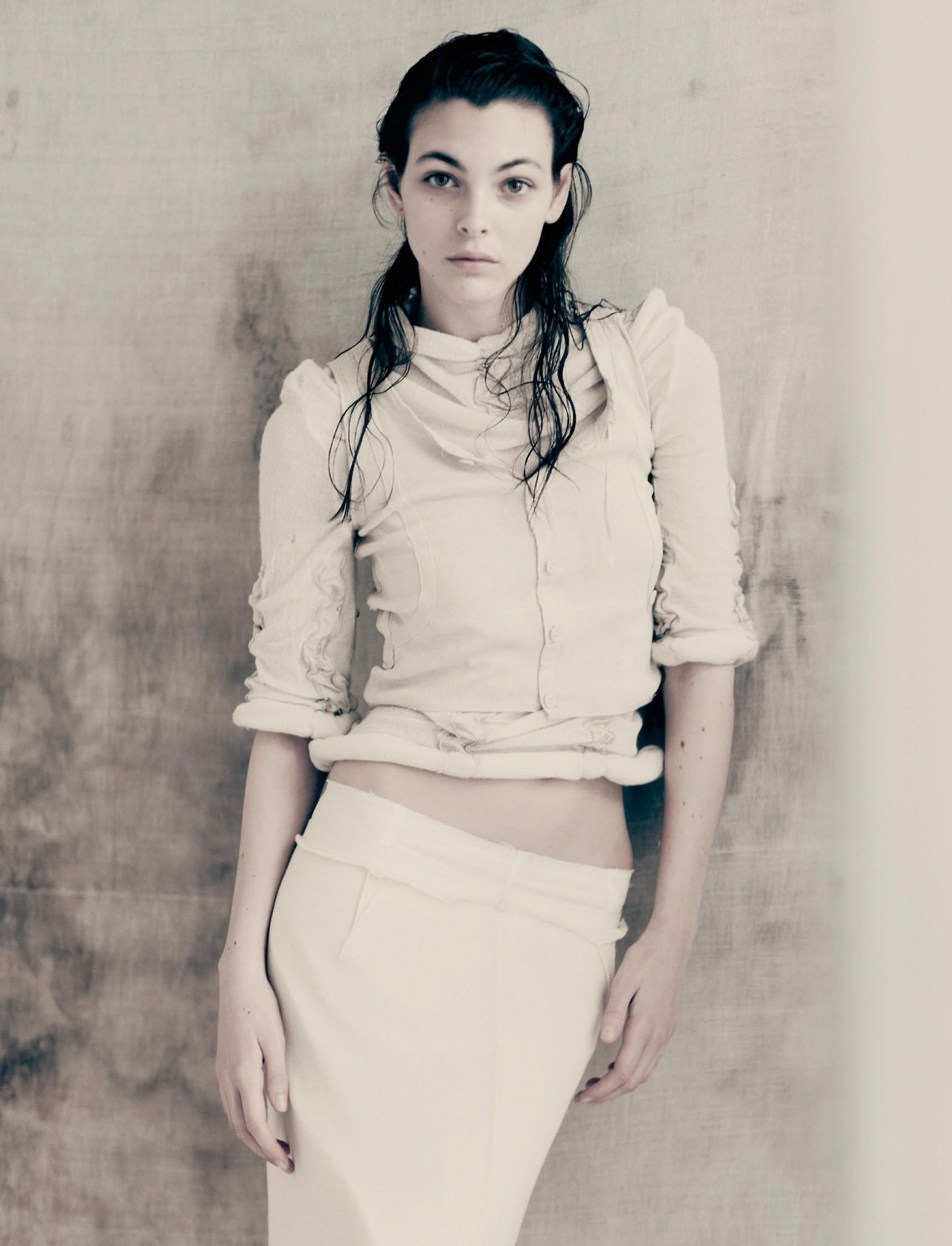 Vittoria Ceretti photographed by Paolo Roversi for Interview Magazine, April 2017