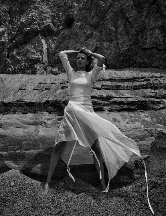 Edita Vilkeviciute by Chris Colls for Vogue Mexico