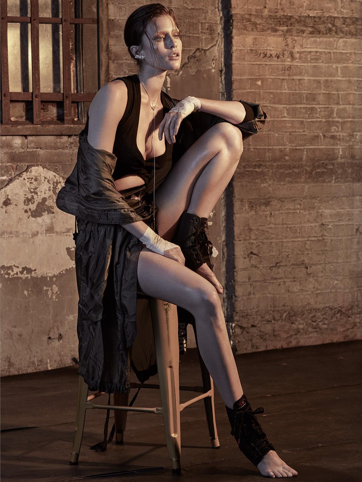 Kim Cloutier by Greg Swales for Dress To Kill Magazine