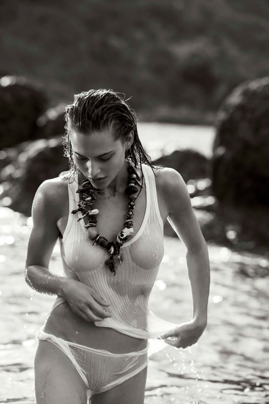 Lana Zakocela by Gilles Bensimon for Maxim