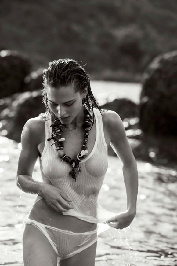 Lana Zakocela by Gilles Bensimon for Maxim