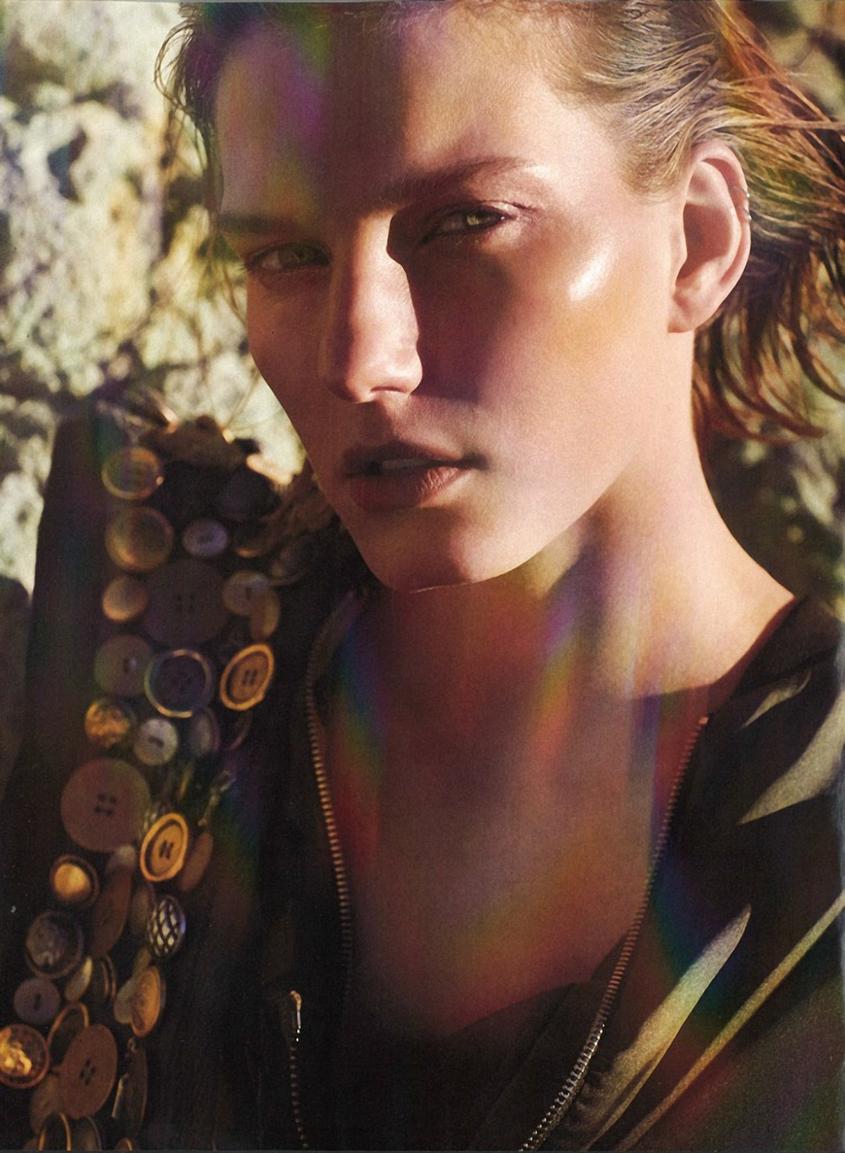 Marique Schimmel by Laura Sciacovelli for Marie Claire Italy