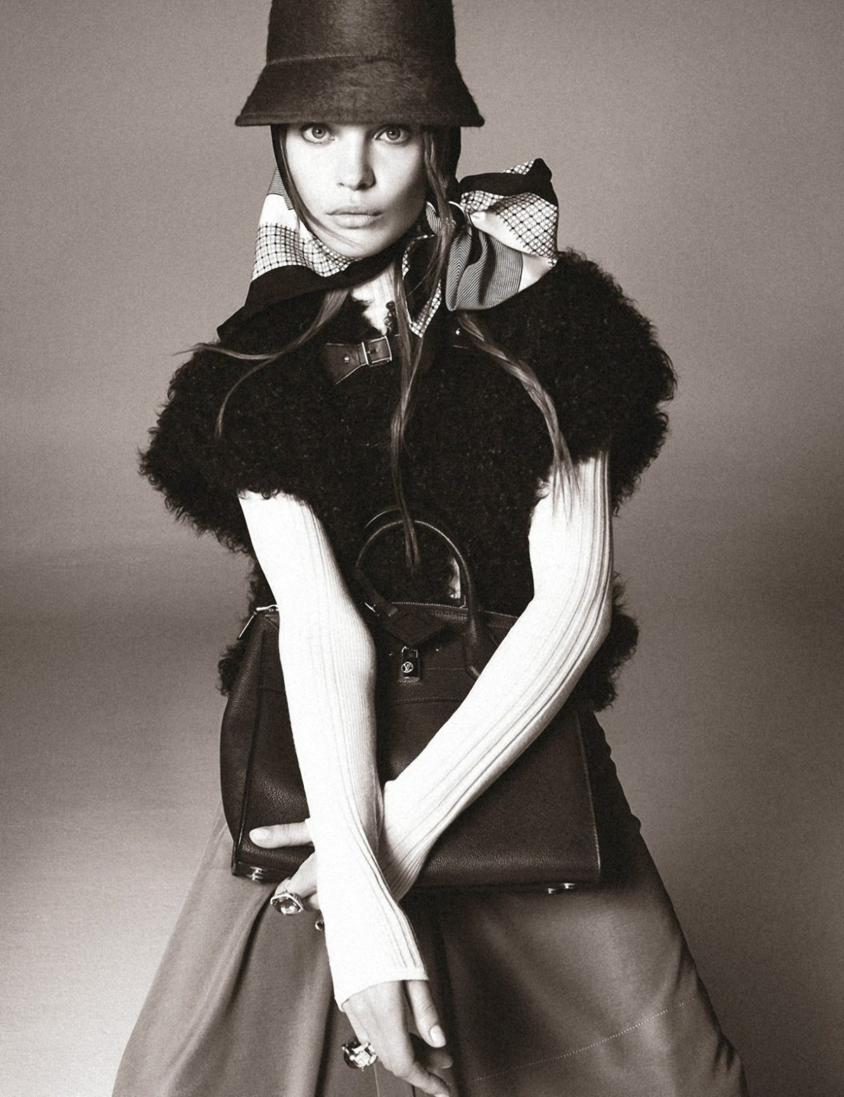 Natalia Vodianova by Steven Meisel for W Magazine