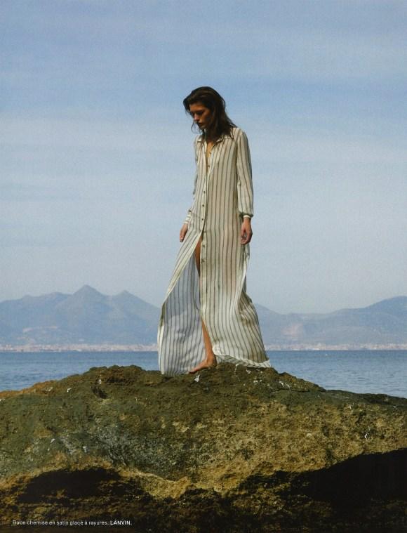 Julia Van Os by Alice Rosati for Numero