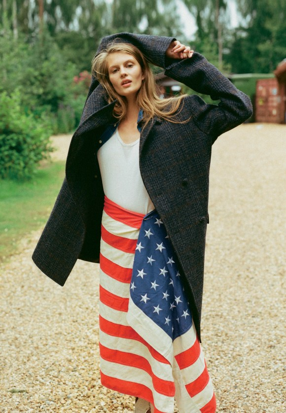 Florence Kosky by Luca Campri for Glamour UK