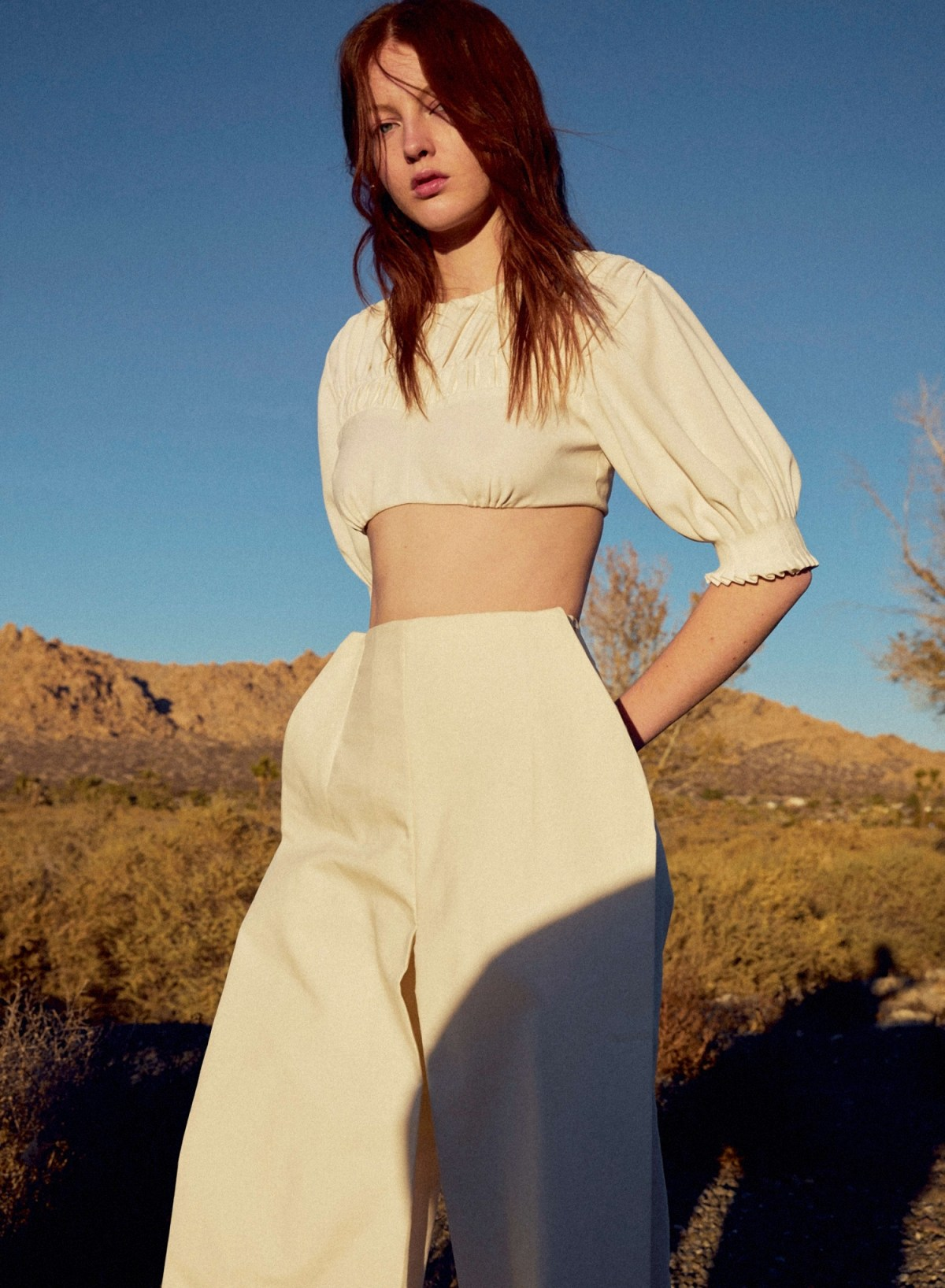 Laura Hanson Sims by Camilla Armbrust for ES Magazine