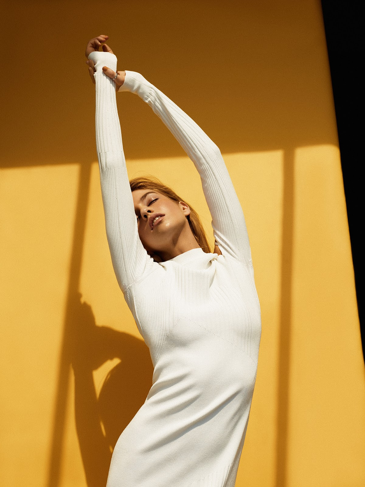 Stella Maxwell by Jason Hetherington for Grazia UK