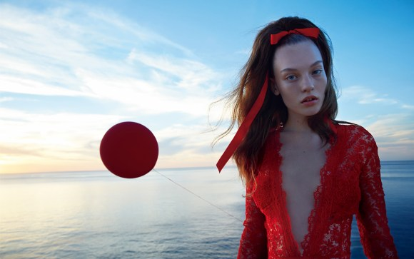 Agnes Akerlund by Camilla Akrans for Vogue Japan