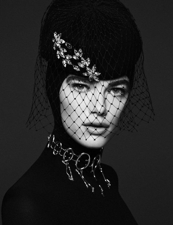 Mathilde Brok Brandi by Daniel Clavero for Vogue Ukraine