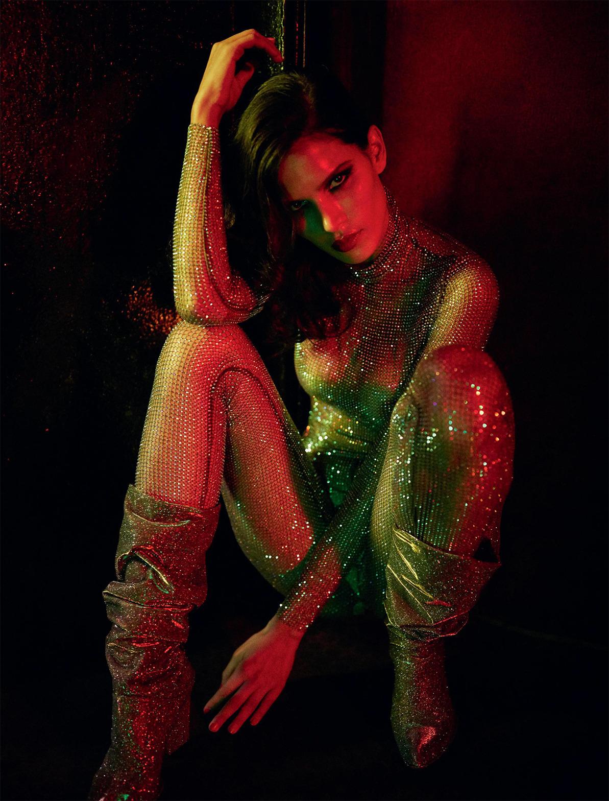 Raica Oliveira by Gaspar Noe for Lui Magazine