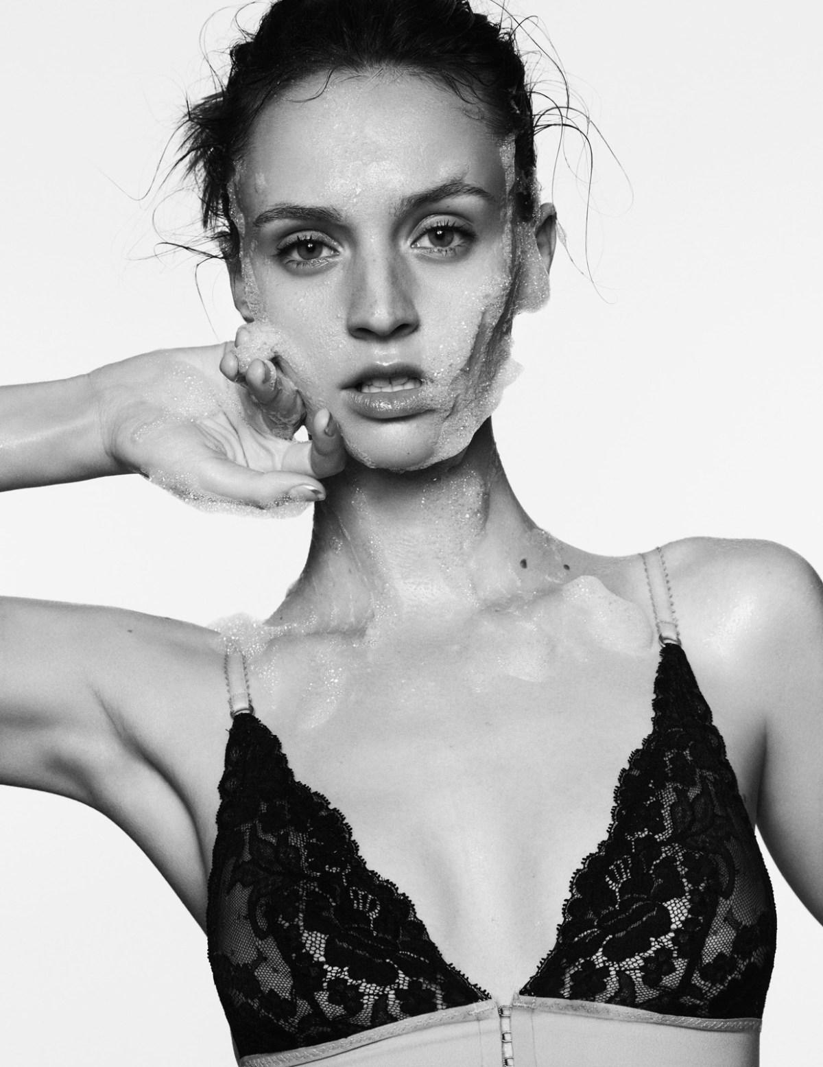 Maddie Kulicka by Pelle Lennefors for Elle France