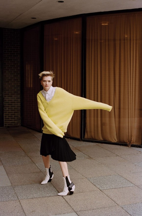 Ruth Bell by Dan Martensen for WSJ Magazine