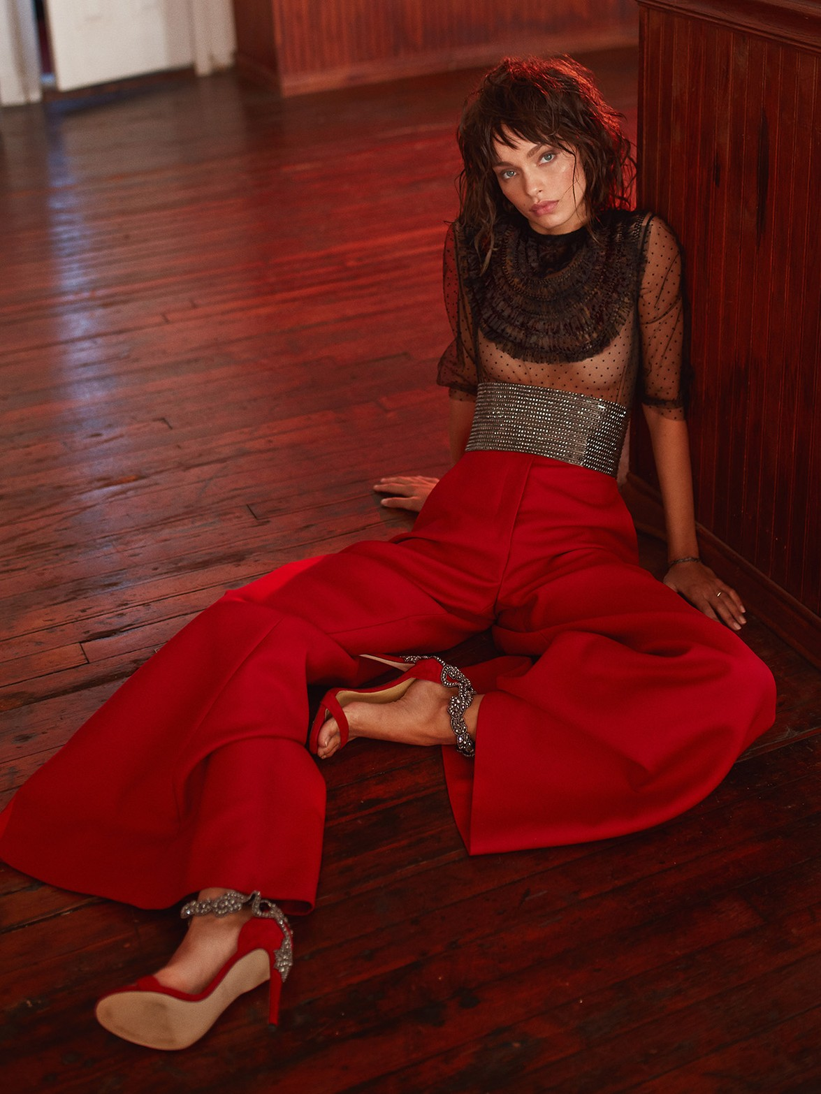 Luma Grothe by Greg Swales for Elle Serbia