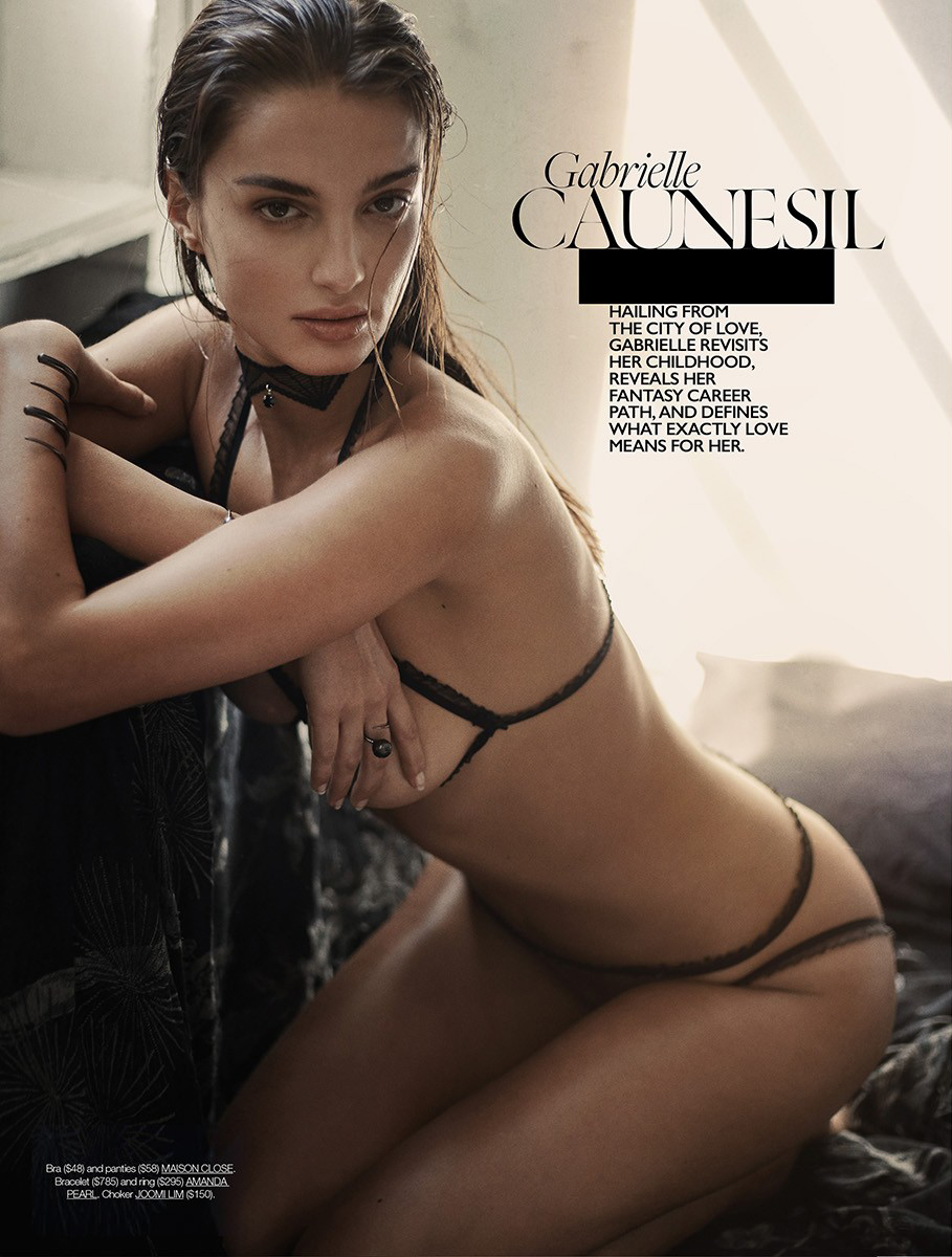 Gabrielle Caunesil by Greg Swales for Dress To Kill 3