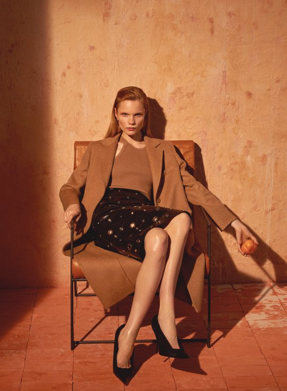 Polina Oganicheva by Arseny Jabiev for Harper's Bazaar Russia