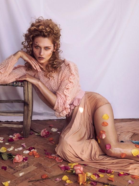 Justine Geneau by Lina Tesch