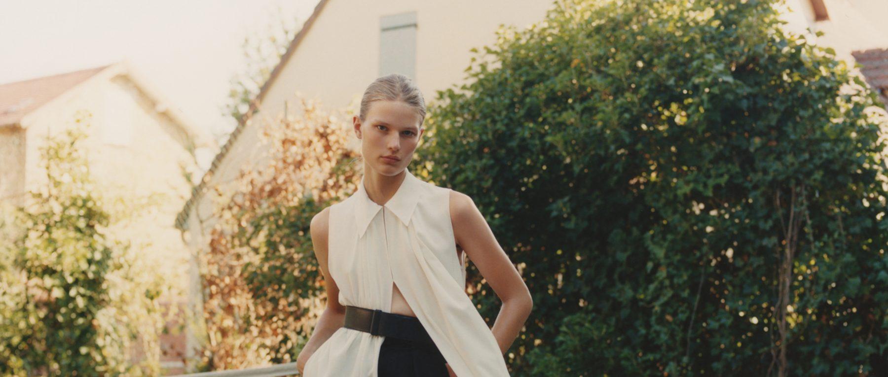 Adela Stenberg photographed by Benjamin Vnuk for Muse Magazine #50