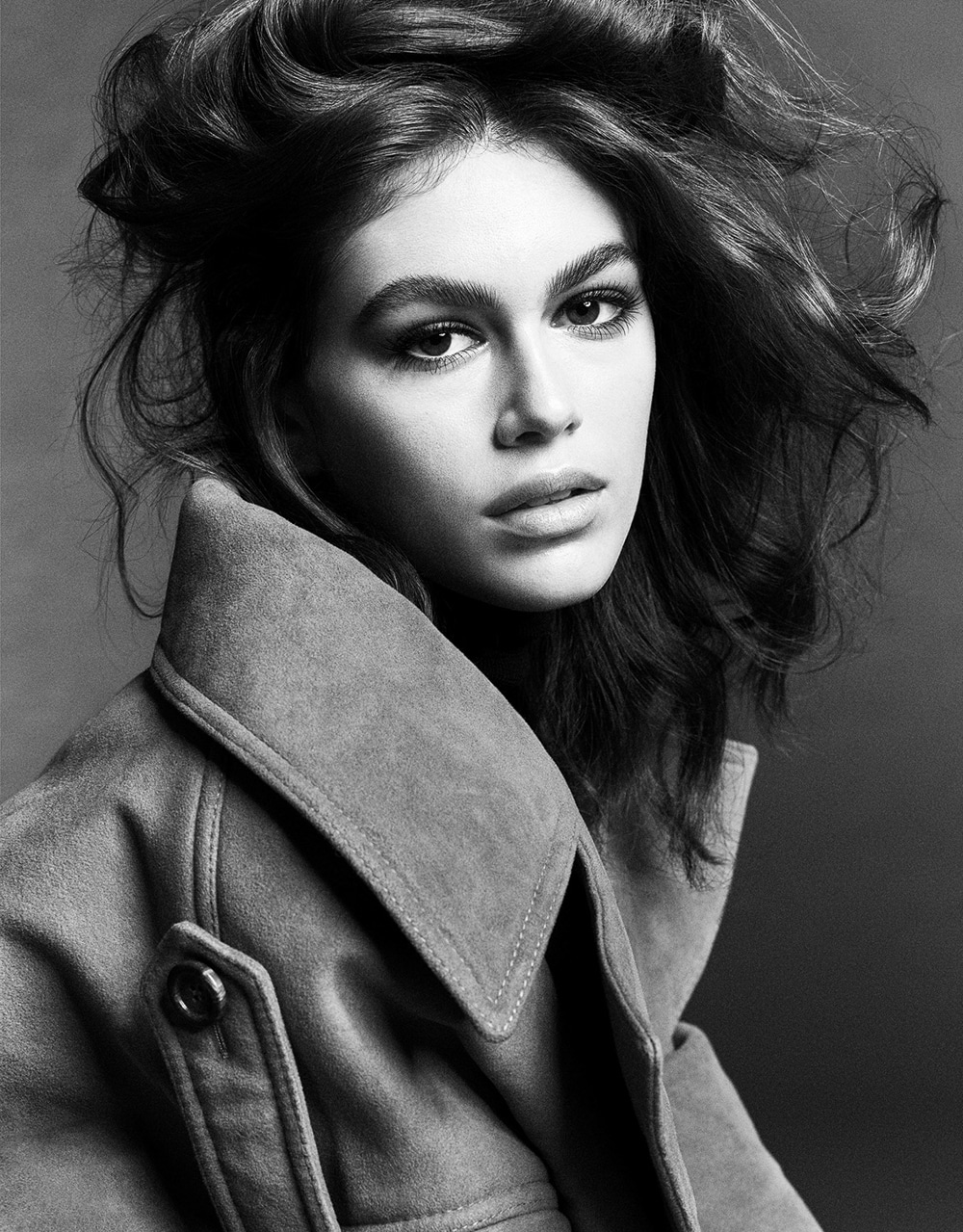 Kaia Gerber by Luigi and Iango for Vogue Japan